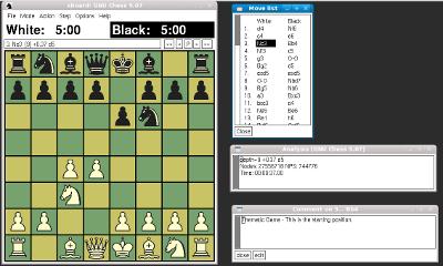 xboard screenshot